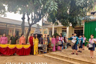 Buổi giao lưu, nói chuyện truyền thống nhân kỉ niệm 76 năm ngày thành lập QĐND Việt Nam 22/12/2020.